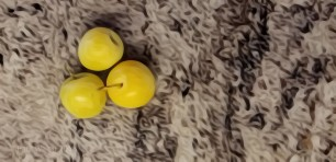 Yellow Ontario Plums